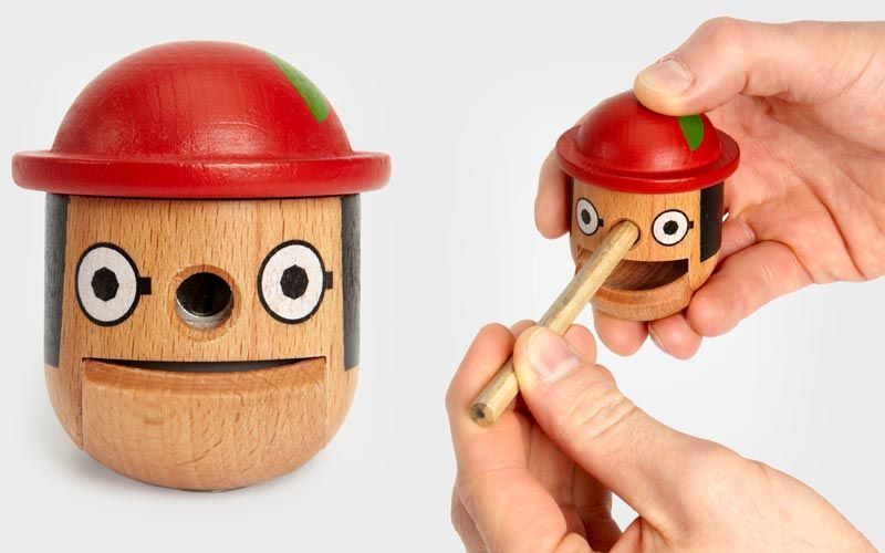 Design: Pinocchio Pencil Sharpener.