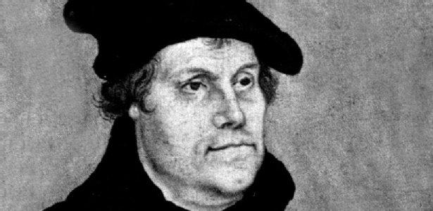 Retrato de Martinho Lutero (1483-1546) feito pelo artista plástico Lucas Cranach