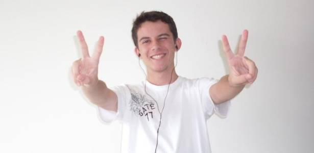 Filipe Caleb, 19, foi aprovado na primeira chamada do Sisu para o curso de medicina da UFSJ. As outras duas vagas foram preenchidas por candidatos da lista de espera