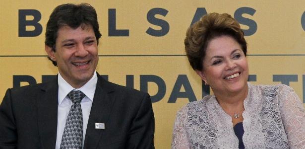 Em evento para promover Haddad, Dilma defendeu o Exame Nacional do Ensino Médio