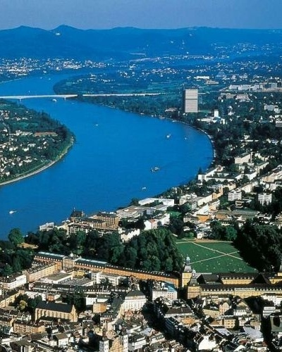 Panorama da cidade de Bonn, Alemanha