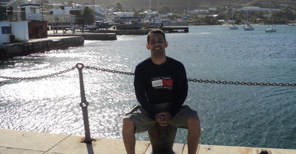Rodrigo Tiago Dias na Cidade do Cabo, África do Sul