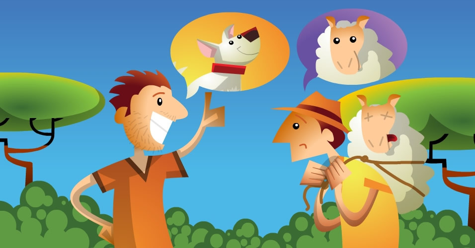 Os três ladrões da ovelha