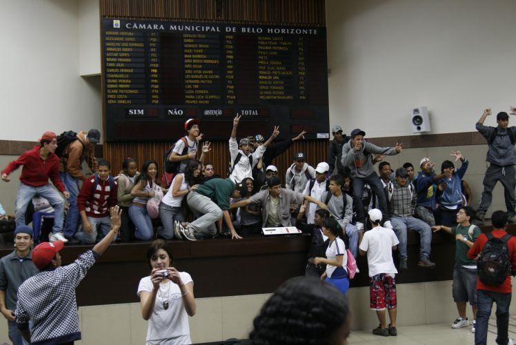 Protesto em Belo Horizonte 1