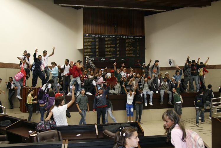 Protesto em Belo Horizonte 2