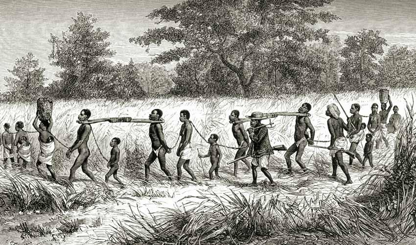 História da escravidão