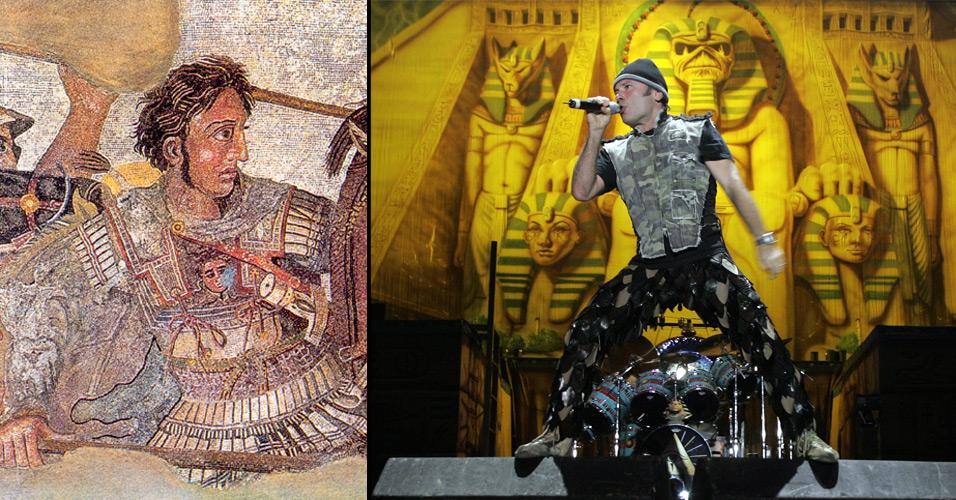 Iron Maiden usa referências históricas em suas letras