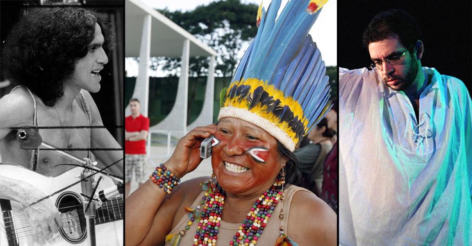 Renato Russo faz homenagem ao índio