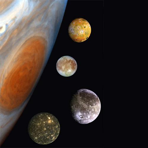 Luas de Júpiter
