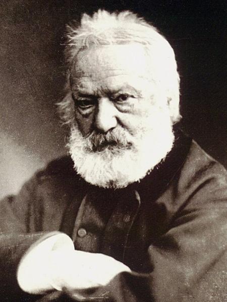 O escritor francês Victor Hugo - Divulgação