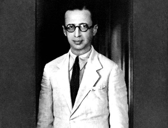 O escritor e poeta Manuel Bandeira