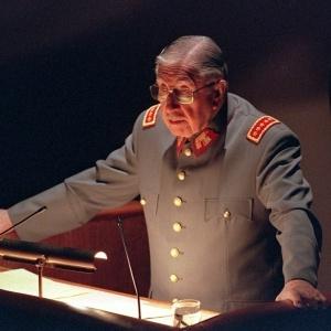 O ex-ditador chileno Augusto Pinochet
