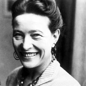 A filósofa Simone de Beauvoir integrou o movimento existencialista - Divulgação