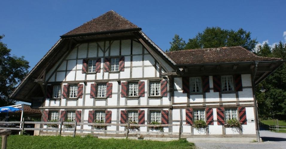 Auberge na cidade de Rapperswil, no cantão de Berna, a 13 km ao norte da capital suíça
